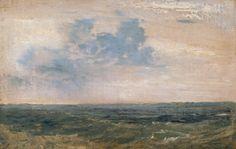Joseph Mallord William TurnerStudy of Sea and Sky, Isle of Wight 1827