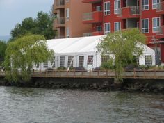 Coporate event at Manteo Resort all tenting and lighting supplied by All Occasions Party & Event Rentals Inc. Kelowna BC