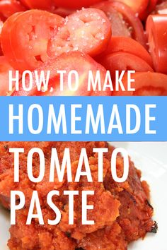 Did you know that you can make tomato paste at home? The DIY version is far more flavorful than anything in a can. On Craftsy!