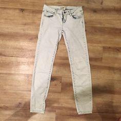 Acid Wash Skinnys Acid wash skinny jeans Jeans Skinny