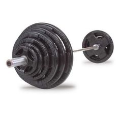 Body Solid makes some of the best home gym products out there, and I love this deal. You get a high-quality Olympic barbell and rubber plates for a great price.