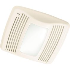 Broan QTX Series Very Quiet 110 CFM Ceiling Humidity Sensing Exhaust Bath Fan with Light-QTX110SL - The Home Depot $194.99 Same fan as I liked at Menards but less expensive.