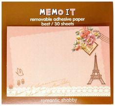 Items similar to Kawaii travel PARIS memo it Japan sticky notes memo pad stationery cute pink floral on Etsy Note Memo, Stationery Items, Smash Book, Paris Travel, Diy Scrapbook, Sticky Notes, Cute Pink, Adhesive, Kawaii