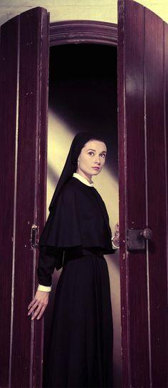 Audrey Hepburn in 'The Nun's Story', 1959.