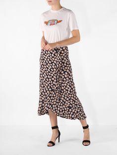 Ganni Montrose crepe skirt. September 2017