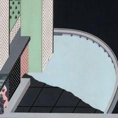Rem Koolhaas, Madelon Vriesendorp. Welfare Palace Hotel Project, Roosevelt Island, New York, New York , Cutaway axonometric. 1976   MoMA
