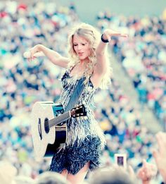 Taylor Swift<3  She is so inspiring to me. I don't know where I would be without her music!!! <3 xoxo