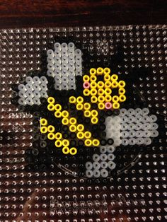 Bee hama perler beads by Dorte Marker