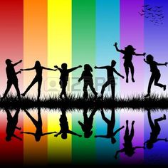 Star Children are all over the Planet nowadays. Find Out if You Are Indigo, Crystal or Rainbow Child, based on your special characteristics. Silhouette Pictures, Black History Books, School Painting, Indigo Children, Home Exercise Routines, Rainbow Background, Clip Art, Star Children, Illustrations
