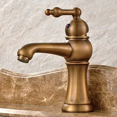 Basin Faucets Antique Torneira Banheiro Bathroom Basin Mixer Tap Brass Hot And Cold Faucet Vintage Taps. Yesterday's price: US $99.00 (81.86 EUR). Today's price: US $54.45 (45.02 EUR). Discount: 45%.