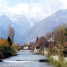 Peja river, Kosovo