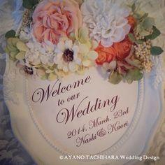 結婚式 ウェルカムボード
