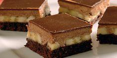 Výborné banánové rezy - Časopis Dobré jedlo Slovak Recipes, Russian Recipes, Party Desserts, Dessert Recipes, Polish Recipes, Polish Food, Something Sweet, Chocolate, Delicious Desserts