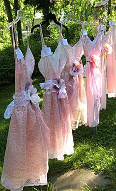 Pretty little slip dresses
