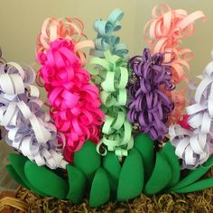 Mother s Day Curly Paper Hyacinths