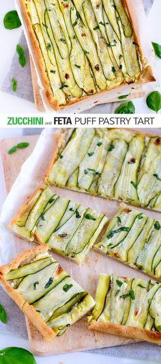 zucchini and feta pu