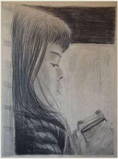 BIMBA - matita on paper - 1973 -  30x40 - sold -
