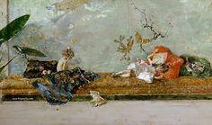 photo 780 Mariano Fortuny y Marsal - 2 Jijos del pintor MordfLuisa y Mariano-en el saloacuten japoneacutes-1874-det-Prado_zpscqhzg73i.jpg
