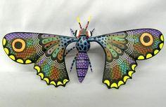Oaxacan Butterfly Alebrije by Raul Blas