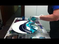 Resin Art - Wavescape - YouTube