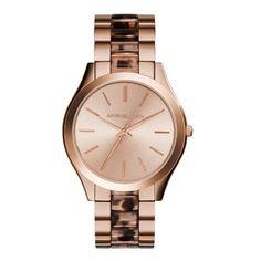 26e52114f1f1 Michael Kors Women s Slim Runway Blush Tortoise and Rose Gold-Tone Stainless  Steel Bracelet Watch - Michael Kors - Jewelry   Watches - Macy s