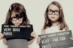 How cute is this? Very French Gangsters eyewear...might have to do some research into this company!