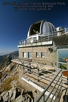 Astronomical and Meteorological Observatory, High Tatras National Park, Slovakia. The oldest of our protected areas, the National Park of Tatras in the north of Slovakia, was founded in 1949. (V)