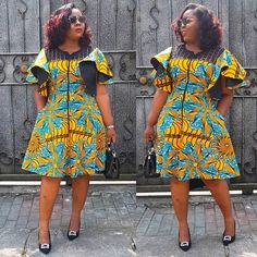The Janey Still Available in just a few pieces. Price NGN 9500 Whatsapp or DM to order African Dresses For Kids, African Fashion Ankara, Latest African Fashion Dresses, African Dresses For Women, African Print Dresses, African Print Fashion, African Attire, Ankara Short Gown Styles, Ankara Gowns