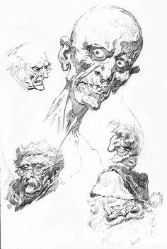 John Buscema sketch  http://www.bobmcleod.com/buscemars.html