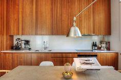#kitchen La maison d'Anna G.: Très milieu du siècle