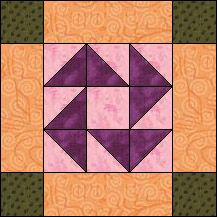 Block of Day for March 02, 2016 - Album Frame-strip piecing The pattern may be downloaded until:Thursday, March 31, 2016.
