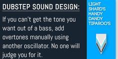 Sound Design, Dubstep, Helpful Hints, Ads, Useful Tips