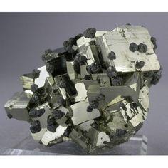 Pyrite, Huanzala Mine, Huanuco Dept., Peru