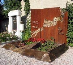 Firewood, Modern Design, Shed, Outdoor Structures, Grave Markers, Fa, Creative, Graveyards, Toms