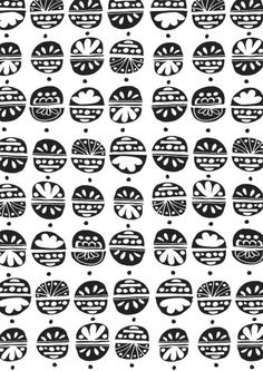 .black & white pattern