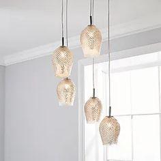 Dunelm | Bedding, Curtains, Blinds, Furniture & More Flush Lighting, Pendant Lighting, Cluster Lights, Color Trends, All The Colors, Home Furnishings, Blinds, Dads, Bulb
