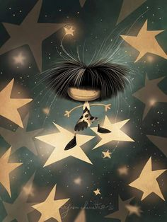 Puro Pelo Boy Drawing, Sweet Night, Sun And Stars, Star Art, Drawing Clothes, Just Smile, Whimsical Art, Belle Photo, Cute Pictures