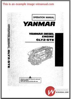 yanmar industrial engine l48n l70n l100n service repair workshop rh pinterest com