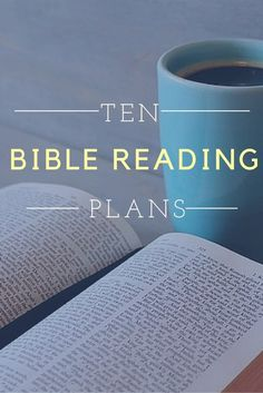 10 Bible Reading Plans for 2016