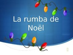 French Christmas Song Powerpoint - cute song to add to a Christmas concert.
