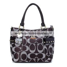 Classical Coach Embossed Women s Leather Tote Bag Tan 56.00 go to  www.coachonlinefactorystore.com 827ed242005a8