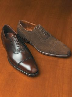 Crockett & Jones Albany Cap Toe Oxford