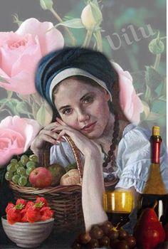 Celebrando a Chegada da Primavera - Virginia Lucia Campos Mendonça @bazaart