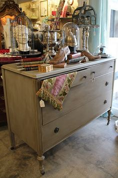 Reinventing Fabulous Flea Market Finds, Unique Home Decor, & Great Ideas for Decorating and Gift Giving! Distressed Furniture, Hand Painted Furniture, Repurposed Furniture, Vintage Furniture, Painted Dressers, Furniture Makeover, Bedroom Furniture, Home Furniture, Furniture Ideas