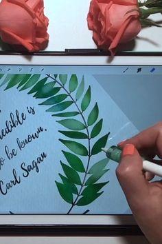 Free iPad Procreate Watercolor Brushes and Tutorial - Papier Wreath Watercolor, Watercolor Brushes, Watercolor Texture, Watercolor Lettering, Ipad Art, Ipad Kunst, Drawing Tablet, Digital Art Tutorial, Illustration