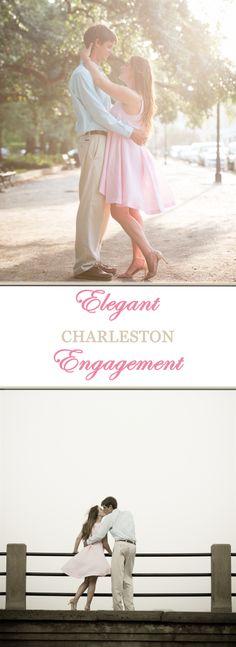 Elegant Charleston Engagement! INSPIRATION