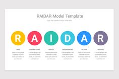 RAIDAR Model Google Slides Template is a professional Collection shapes design and pre-designed template that you can download and use in your Google Slides. The template contains 11 slides you can easily change colors, themes, text, and shape sizes with formatting and design options available in Google Slides. Eat And Go, Shape Design, Keynote Template, Color Change, Shapes, Templates, Colors, Model, Collection