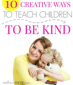 Ideas for Being Kind: I love these ideas!
