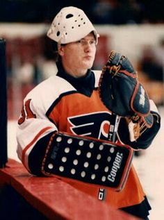 Pelle Lindbergh | Philadelphia Flyers | NHL | Hockey
