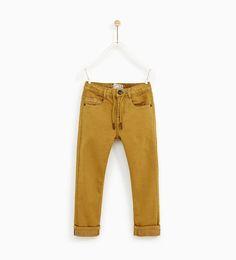 Zara 5 pocket boys trousers